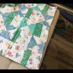 NWT Hand Crafted Dolly/Stuffed Animal Quilt